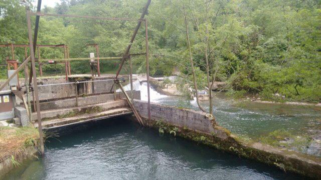 Fagollagako Zentral Hidroelektrikoaren presa