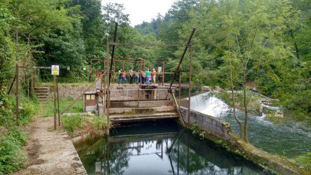 Fagollagako presa eta kanala